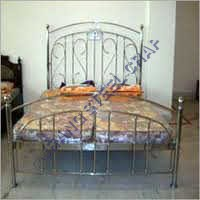 SS Designer Double Bed