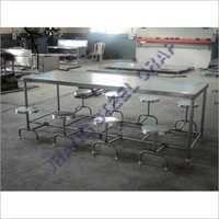 8 Seater SS Dining Table Set