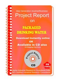 Packaged Drinking Water II  manufacturing Project Report eBook