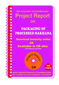 Packaging of Processed Makhana manufacturing eBook