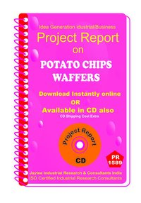Potato Chips Waffers manufacturing Project Report eBook