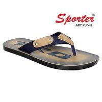 Sporter Men/Boys UP V-3 Blue Flip-Flops & Slipper
