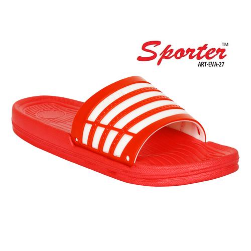1aba01f181a8 Sporter Men Boys EVA-27 Red Flip-Flops   Slipper - Sporter Men Boys ...