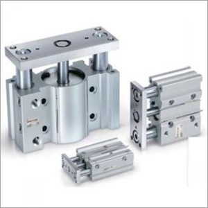 Compact Guide Cylinder With Lock MLGP