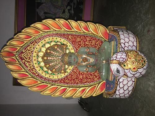 Parshwanath Gemstone statue