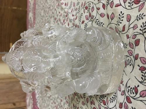 Ganesha Crystal Statue