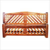 Stylish Teak Wooden Cot