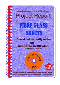 Fiber Glass Sheets manufacturing Project Report eBook