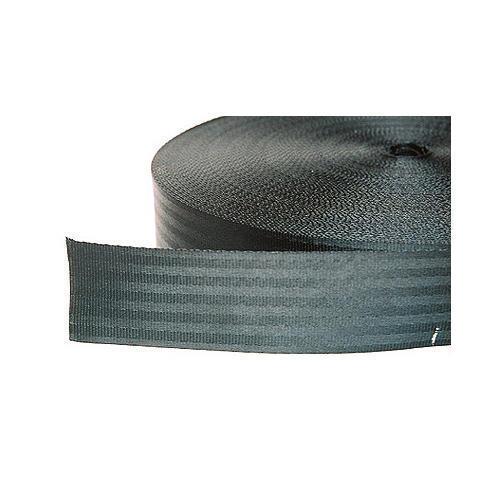 Black Polyester Webbing