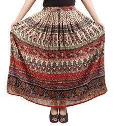 Ladies Bagru Print Skirts