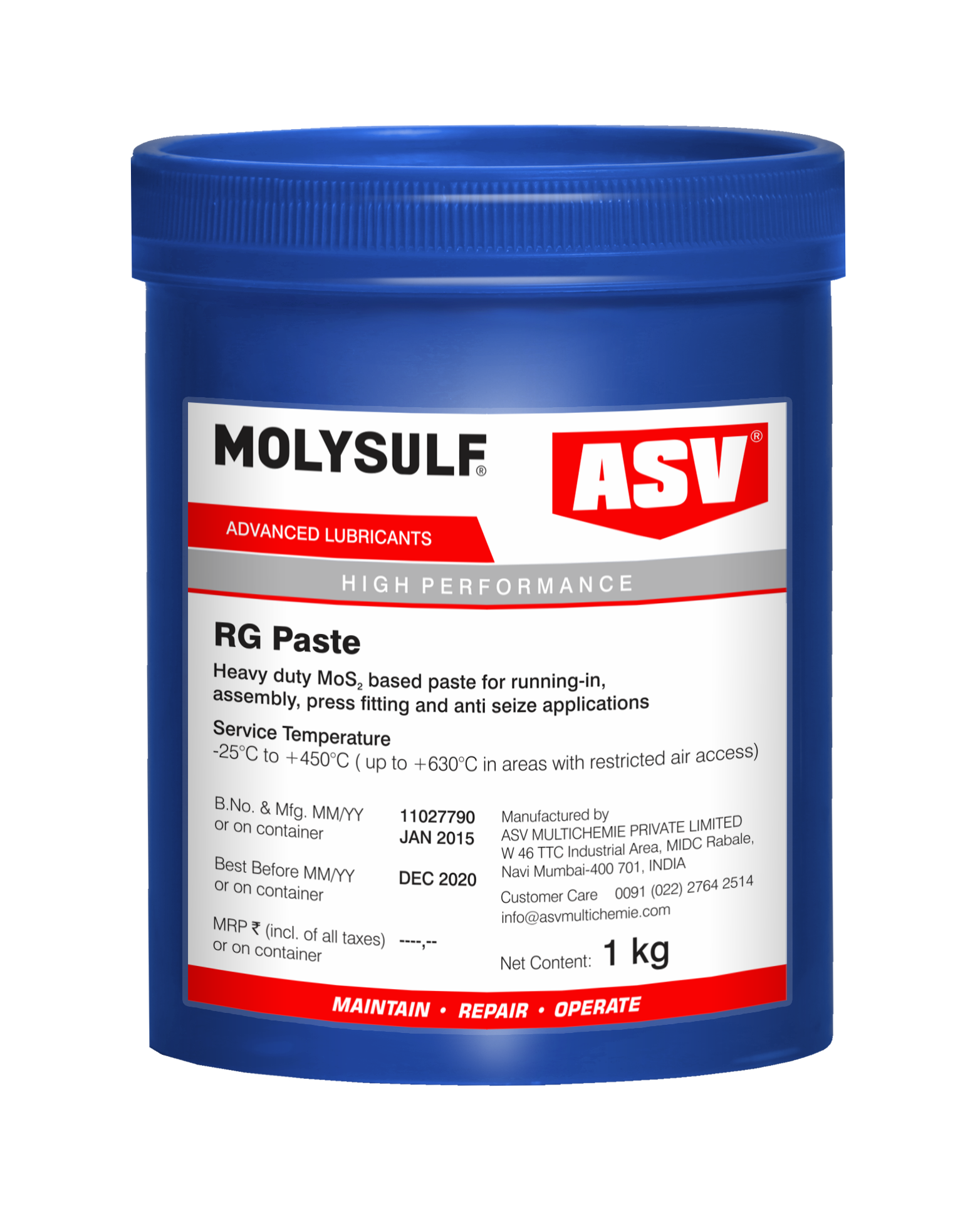 Molybdenum Disulphide Assembly Paste