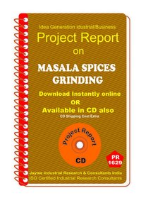 Masala Spices Grinding II manufacturing Project Report eBook