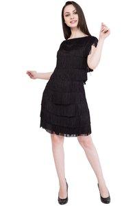 Alvenda Women'S A-Line Midi Dress