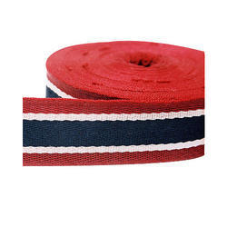 Multicolour Spun Polyester Herringbone Tape