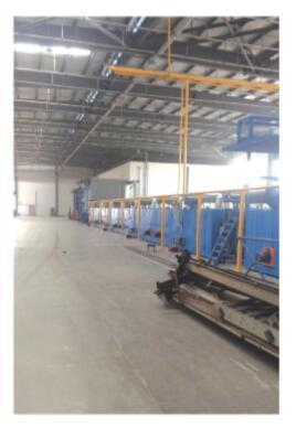 Carpet Gumming & Drying Production Line