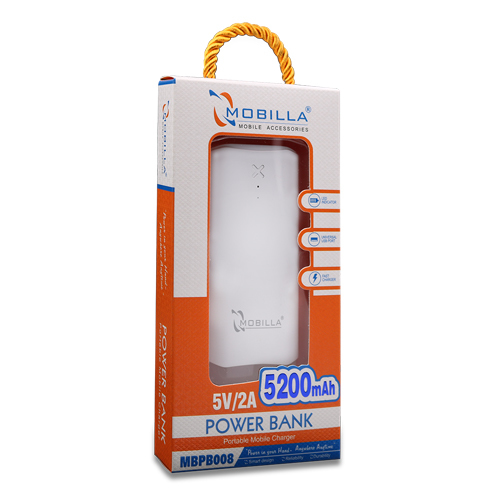 POWER BANK 5200mAh (008)