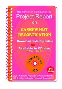 Cashew Nut Decortication Project Report eBook