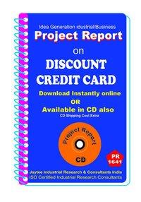 Discount Credit Card Project Report eBook