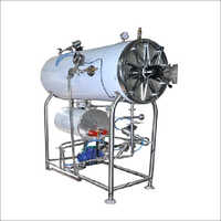 Autoclave Horizontal Triple Walled (Cylindrical)