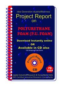 Polyurethane Foam (P.U foam) manufacturing Project Report eBook