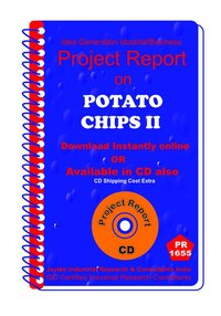 Potato Chips Part D manufacturing Project Report eBook