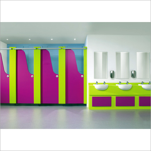 Children Modular Toilet Cubicle