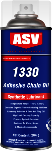 Synthetic High Temperature Adhesive Chain Lubricant