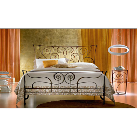 Iron Designer Bed