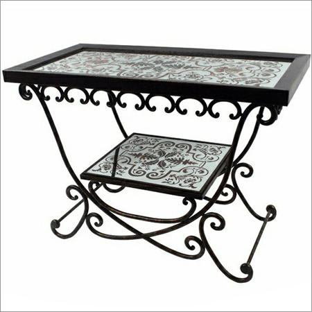 Decorative Metal Table