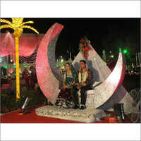 Moon Concept Wedding Stage