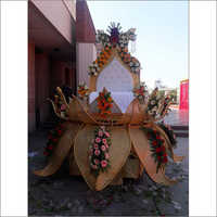 Lotus Style Wedding Stage