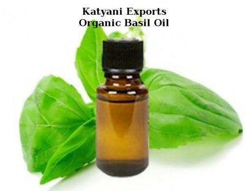 Organic Basil Oil