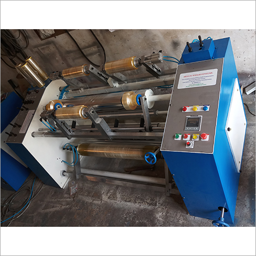 PVC Clean Film Slitter Rewinder Machine
