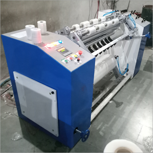 Stretch Film Slitting and Rewinding Machine