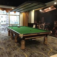 Antique Interior Snooker Table