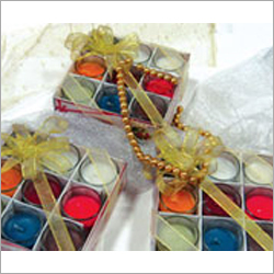 Colorful Votive Candle