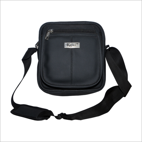 Mens Black Sling Bag