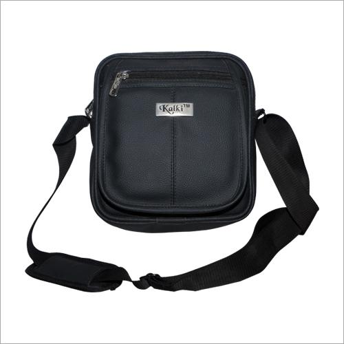 Mens Black Sling Bag