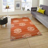 Cotton Panja Rugs,Cotton Rajasthani Design Mandala Handwoven Flat weave Dhurrie rug