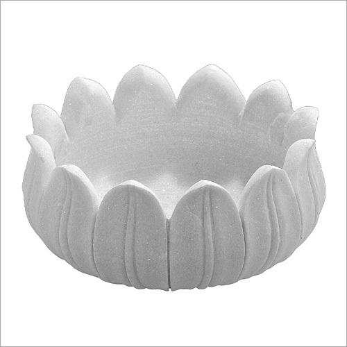 Marble Lotus Pot