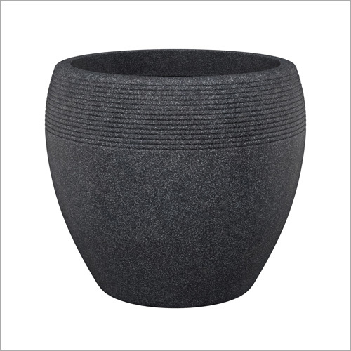 Black Granite Pot