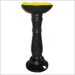 Black Granite Standing Pot