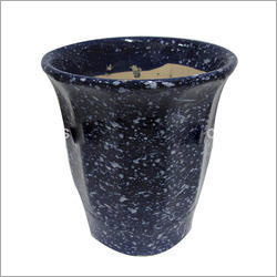 Black Pearl  Flower Pot