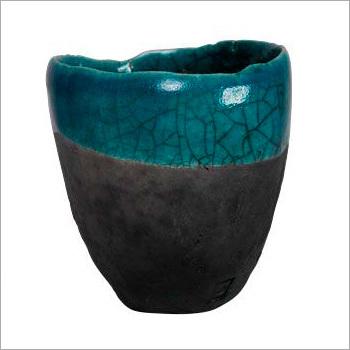 Green Granite Pot
