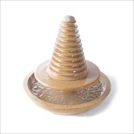 Round Pyramid Stone Fountain