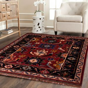 Traditional Cotton Wool Discovery Rug