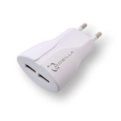 DUAL USB TRAVEL CHARGER (2.4A)