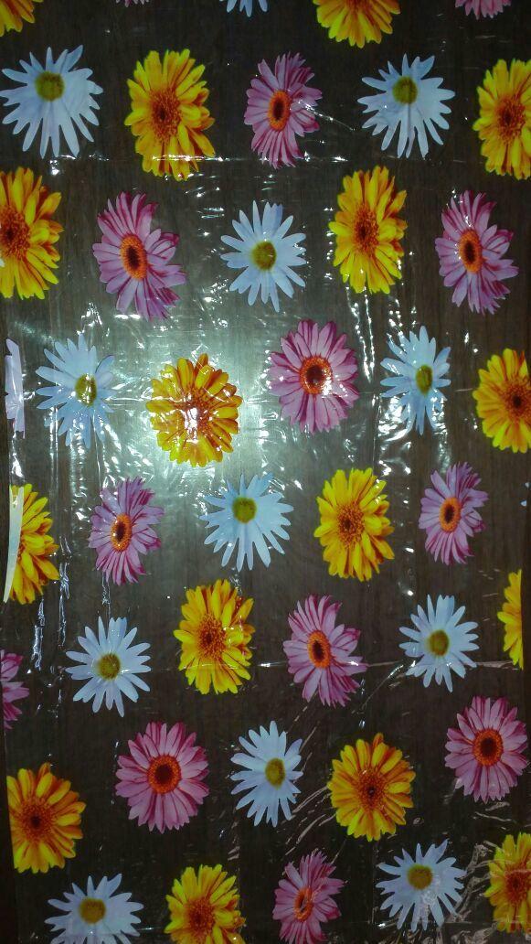 Flower Print PVC Film