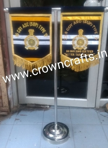 Malerkotla Embroidery T Flag