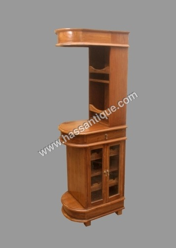Teakwood  Bar Cabinet